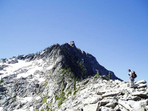 Rock Peak\'s North Ridge
