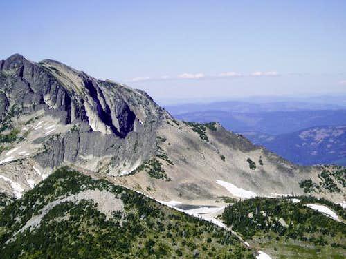 Elephant Peak and Libby lakes