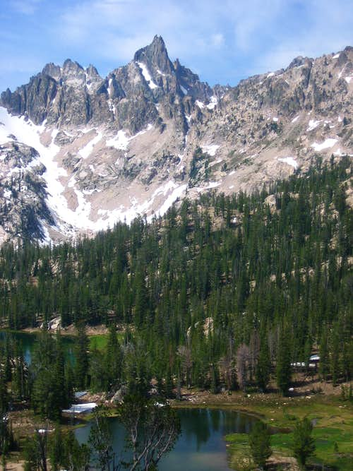 Nearby Packrat Peak