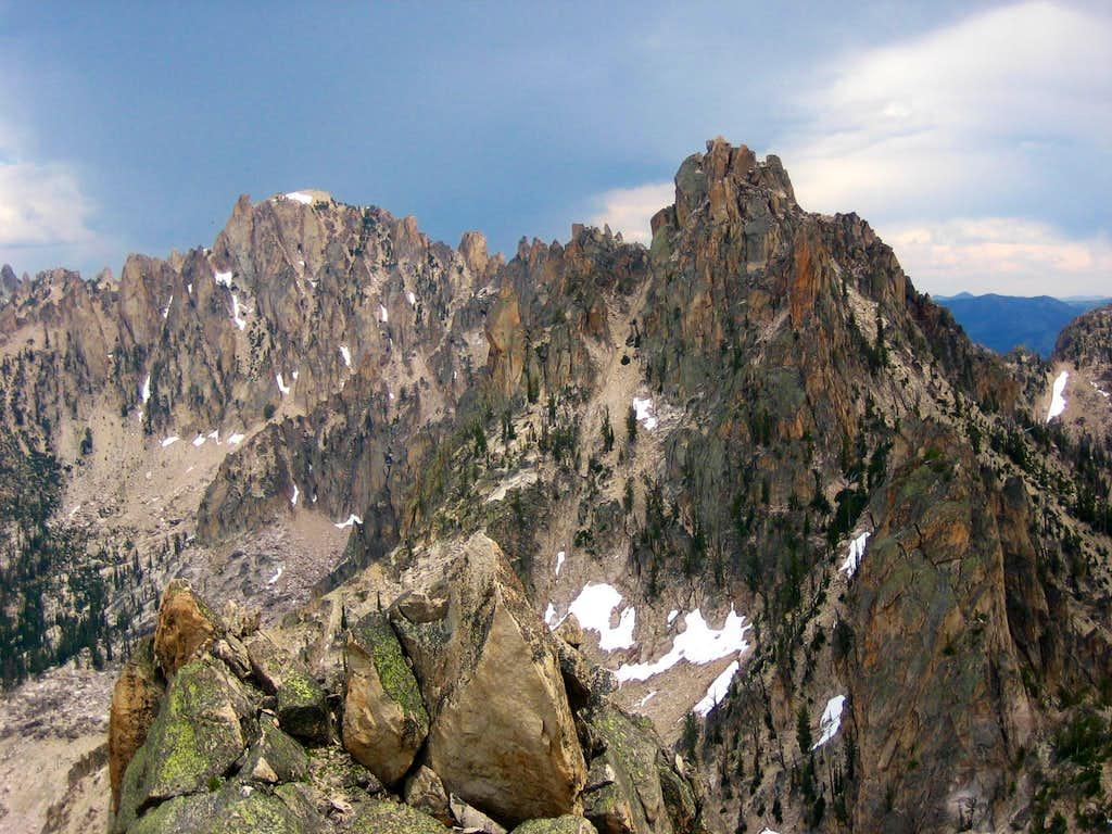 Braxon Peak and Pk 9980 from the summit