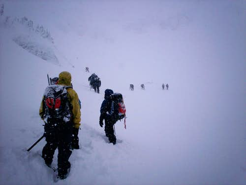 Getting to the Main/Snow/North Gulley