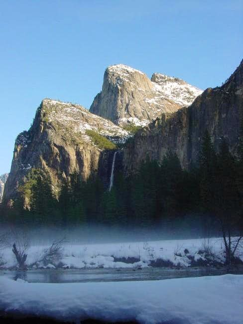 Bridalveil Falls and...