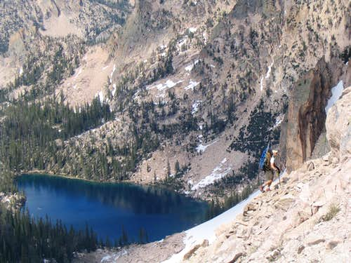Hiking to Warbonnet