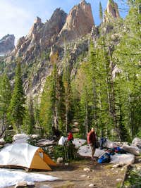 Camp below Warbonnet