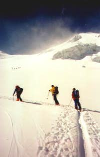 May 03, 2003 Piz Palü ski...
