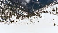 Rescue Helicopter in Baldy Bowl
