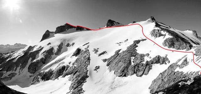 Northwest Route Snowking Mountain