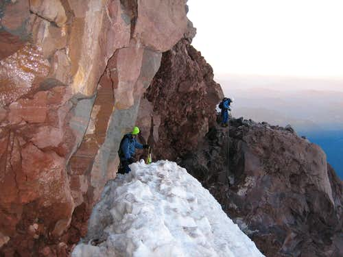 Kautz Glacier Shortcut