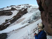 First pitch of Kautz Glacier