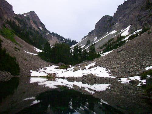 Kaleetan Peak and Melakwa Pass
