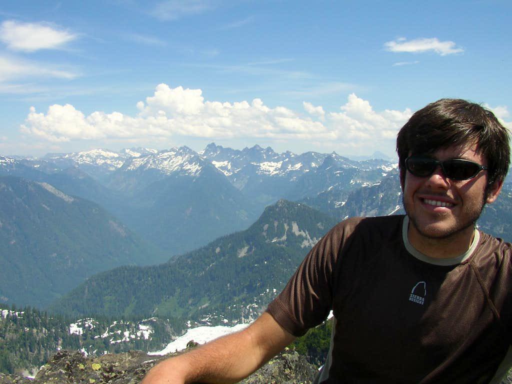 David on the summit
