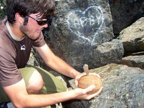 Coconut Mashing