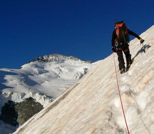 Climbing Roche Faurio