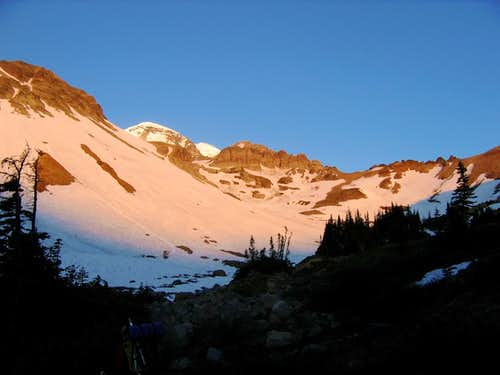 Morning in Glacier Basin