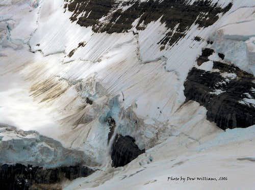 Mount Victoria Ice Fall