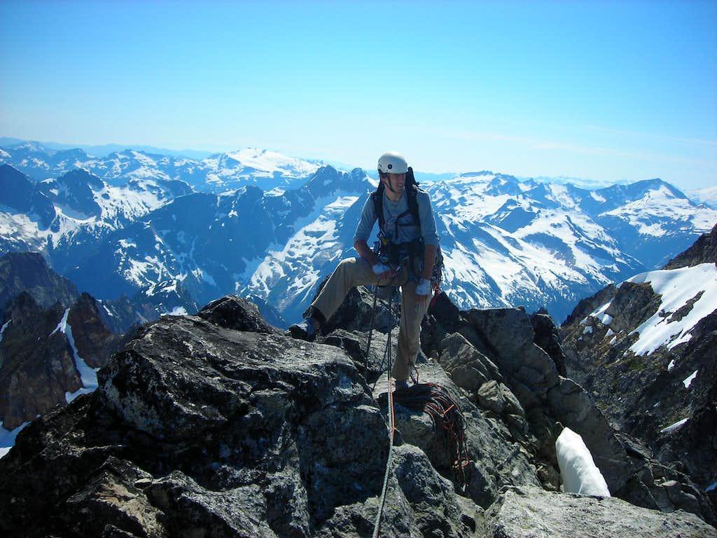 Inspiration Peak - Summit
