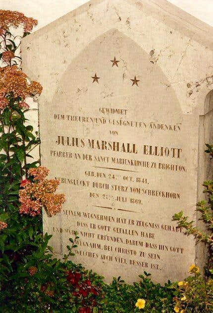 Julius Marshall Elliott…