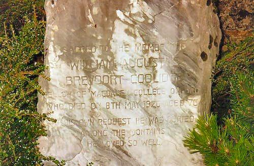 W. A. B. Coolidge…