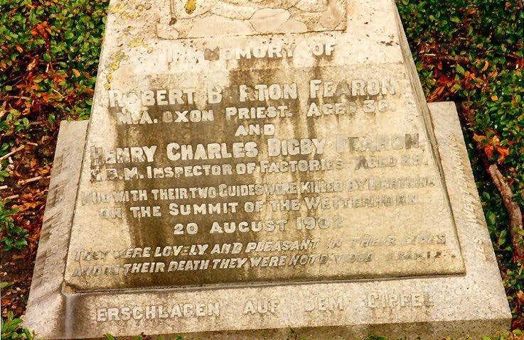 Robert and Henry Fearon…