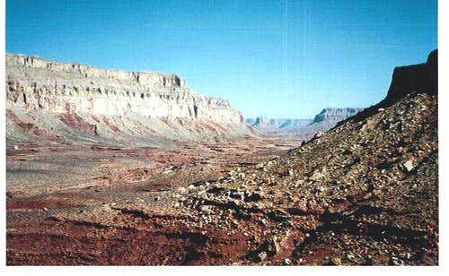 View from trail head Havasupai
