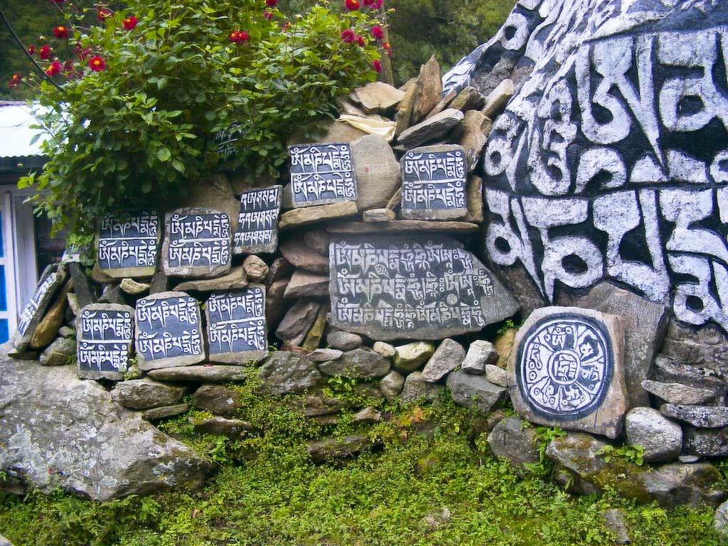 Lajas of stone
