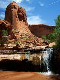 Waterfall Coyote Gulch, Escalante