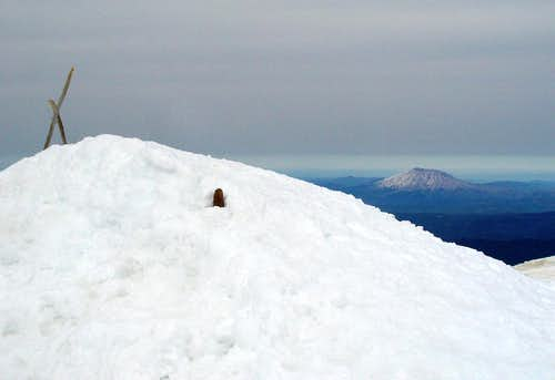 A summit shot with...