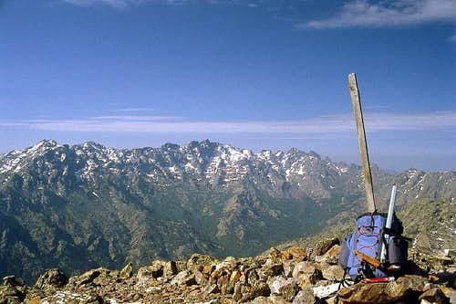 Monte Padro Summit view