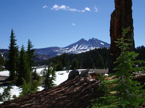 Broken Top from South Sister Trail