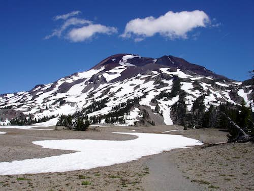 South Sister from trail