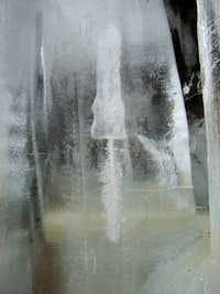 Frozen brush