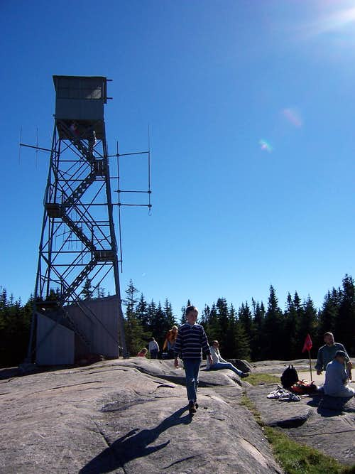 Firetower on Blue Mt.