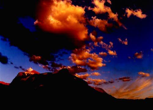 Mt Dama Sunset
