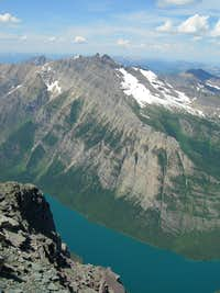 Upper Kintla Lake and Longknife
