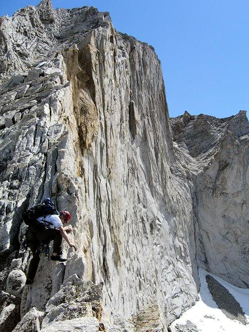 West Ridge of Conness