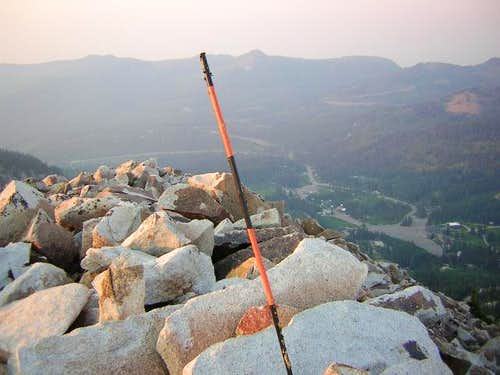 Summit of Mt Millicent