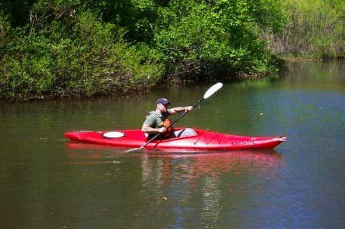 Kayaking som FlatWater