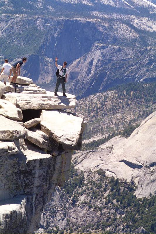 Classic Half Dome overhang