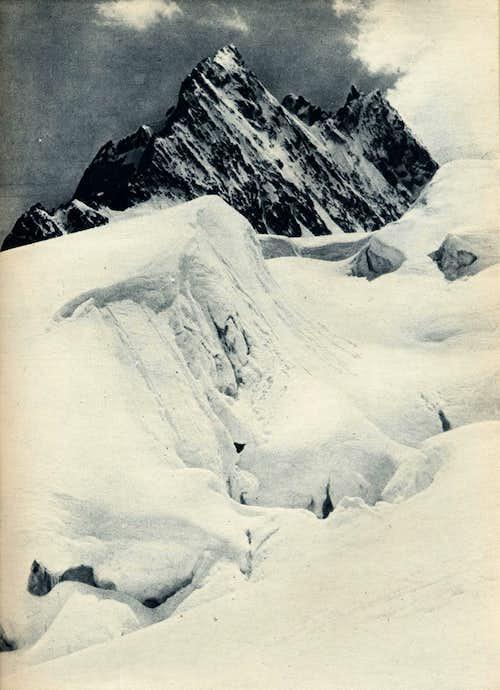 Glacier Blanc seracs