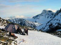 Camp on the ridge