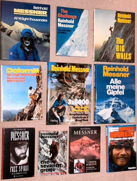 Mountaineering Books