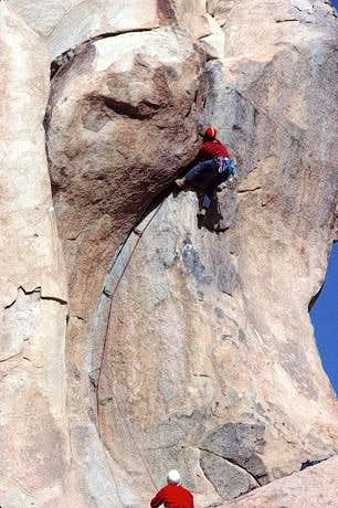 Jim Mathews (belayed by...