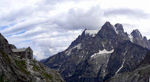 Pelvoux and Ref. Glacier Blanc