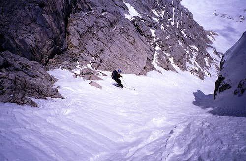 Skiing Torstein Eisrinne