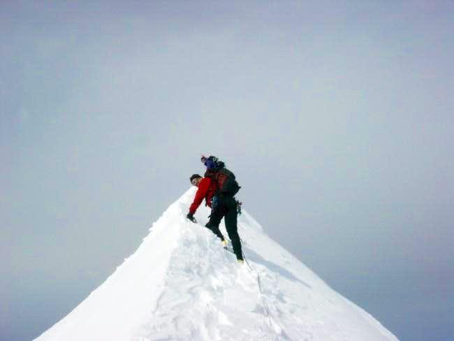Summit ridge of Eldorado...