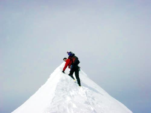 Summit ridge of Eldorado...