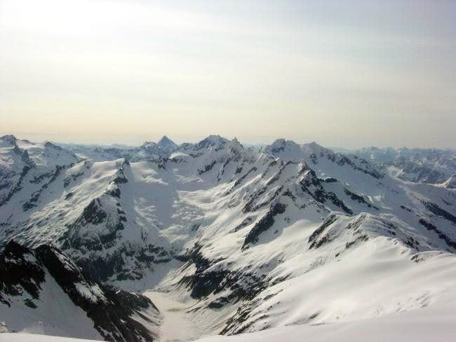 Forbidden Peak (north and...
