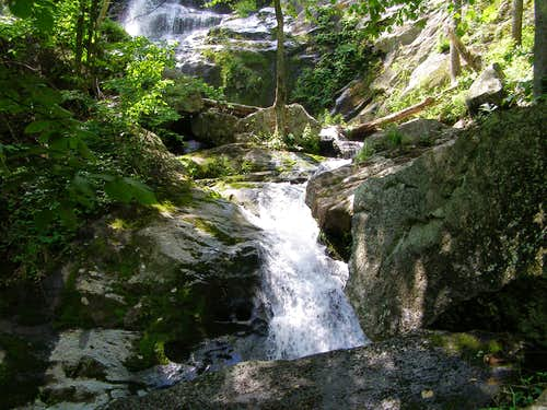 Another part of Crabtree Falls