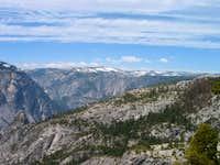 View over Yosemite Valley...
