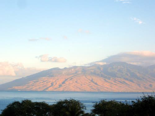 West Maui from Kihei